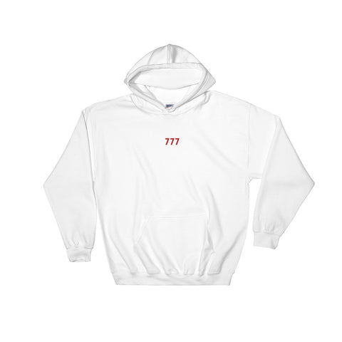 Men's Hooded Sweatshirt - 777 - White