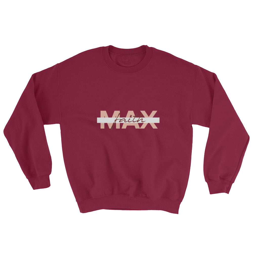 Men's Sweatshirt - Max Faith - Orange
