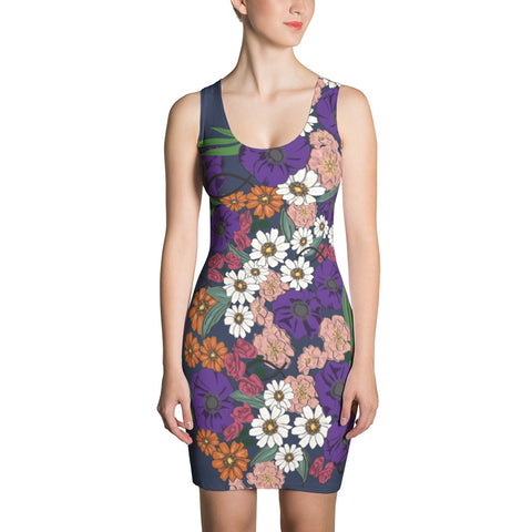 Sublimation Cut & Sew Dress - Eden