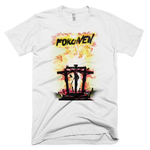 Men's Short-Sleeve T-Shirt - Forgiven - Yellow