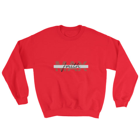 Men's Sweatshirt - Max Faith - Red