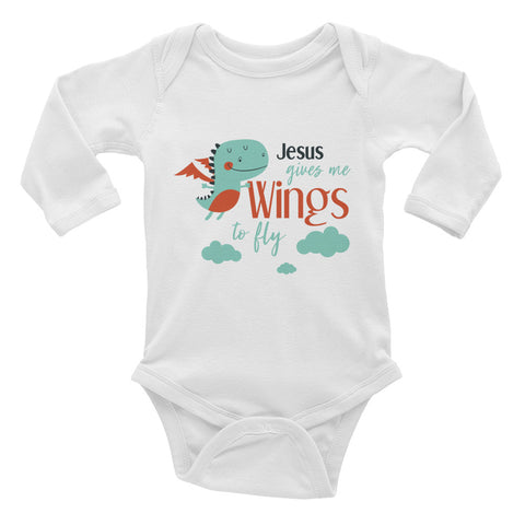 Wings to Fly - Infant Long Sleeve Bodysuit