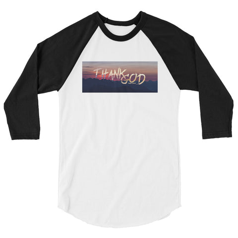 Thank God - Unisex Raglan