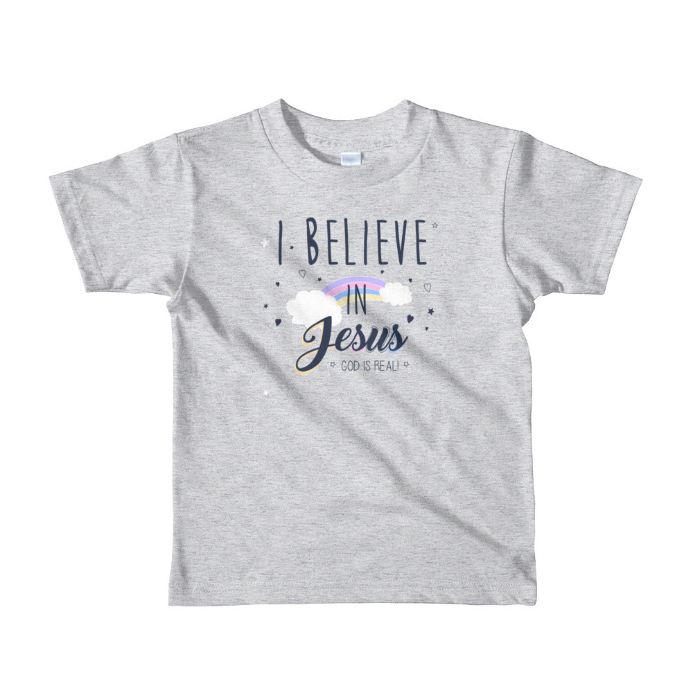 God is Real - Short sleeve kids t-shirt