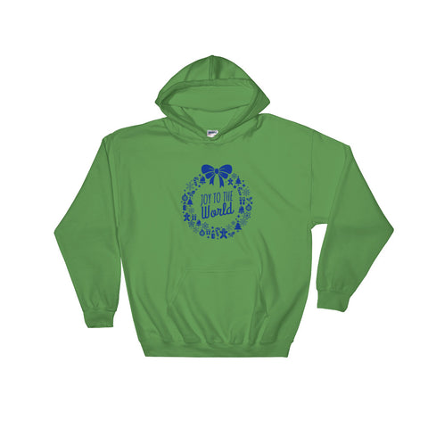 Men's Pullover Hoodies - Joy to the world.