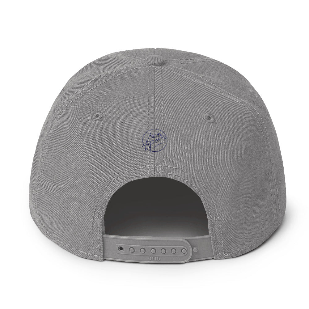 Snapback Hat - Psalm 23 - Black