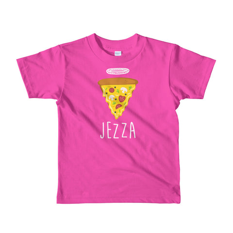 Hungry for Jezza - Short sleeve kids t-shirt