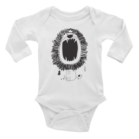 Lion of Judah - Infant Long Sleeve Bodysuit