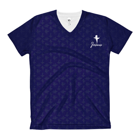 Jesus - All-over Women's V-Neck