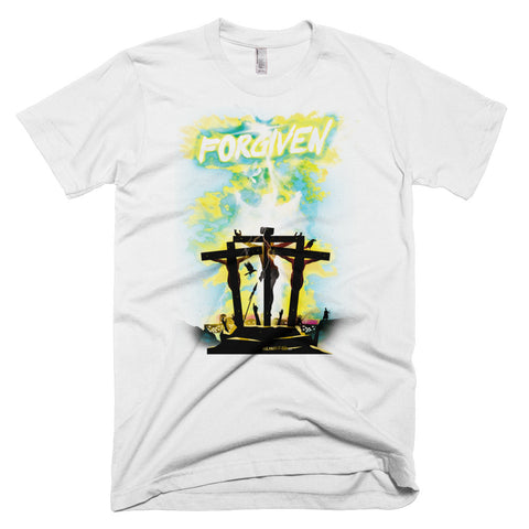 Men's Short-Sleeve T-Shirt - Forgiven - Green