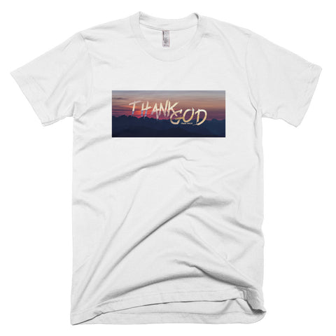 Thank God - Men's Short-Sleeve T-Shirt
