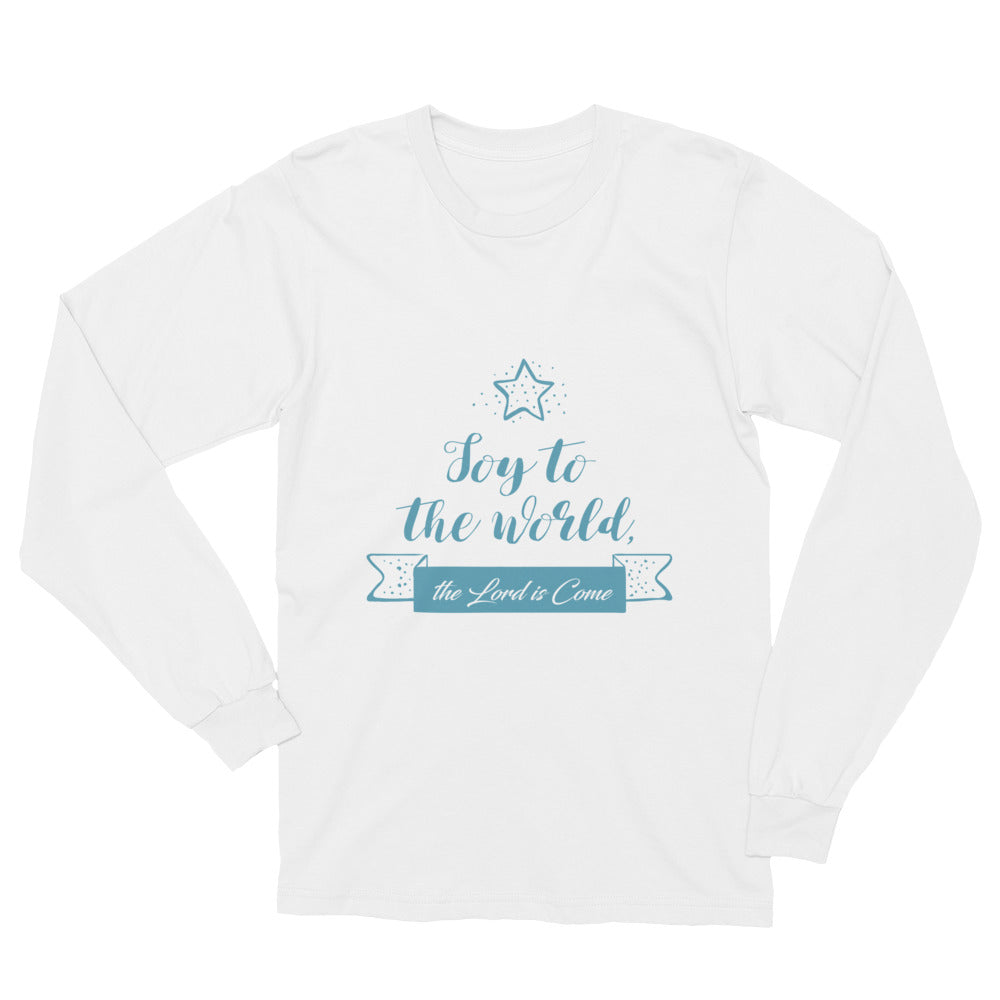Unisex Long Sleeve T-Shirt - Joy to the world the Lord is come