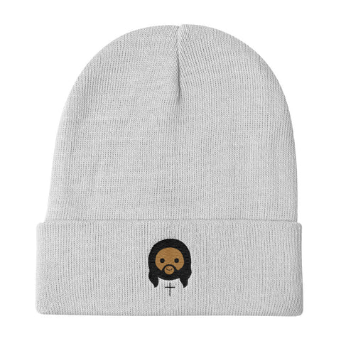 Knit Beanie - Cute Christ