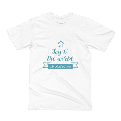 Men's Short Sleeve T-Shirt - Joy to the world the Lord is come