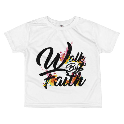 Walk By Faith - All-over Kids Tshirt