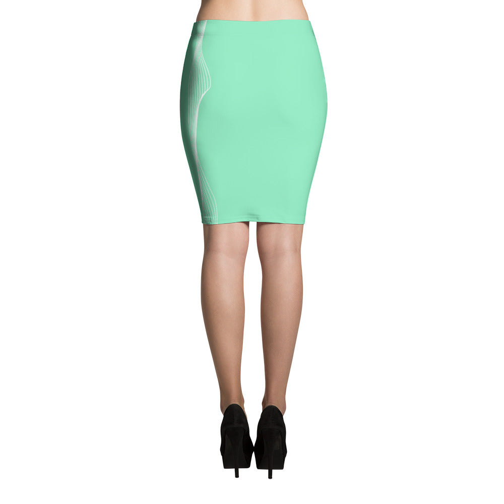 Thread of His Mercy - Pencil Skirt