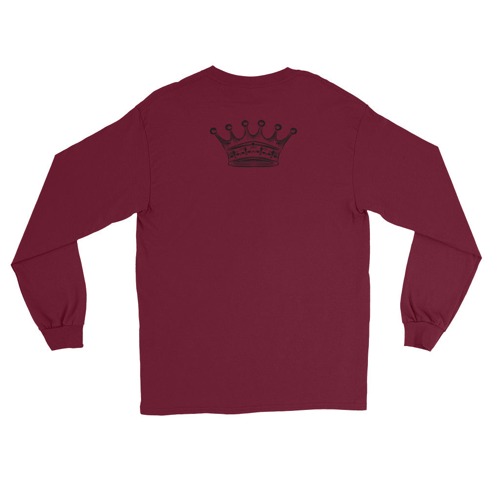 Men's Long Sleeve T-Shirt - The King