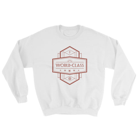 Women's Sweatshirt - World Class - Red