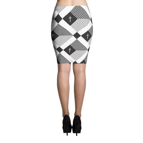 In Christ Alone - Pencil Skirt
