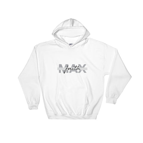 Women's Hooded Sweatshirt - Max Faith - Grey