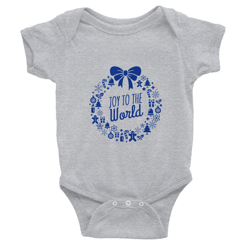 Infant Bodysuit - Joy to the world