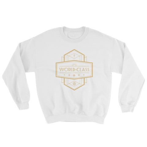 Men's Sweatshirt - World Class - Gold
