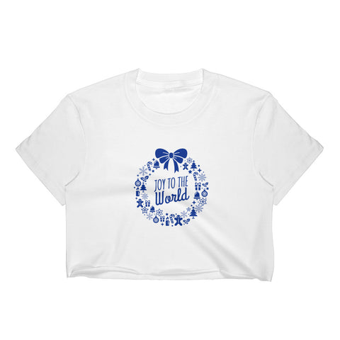 Women's Crop Top - Joy to the world