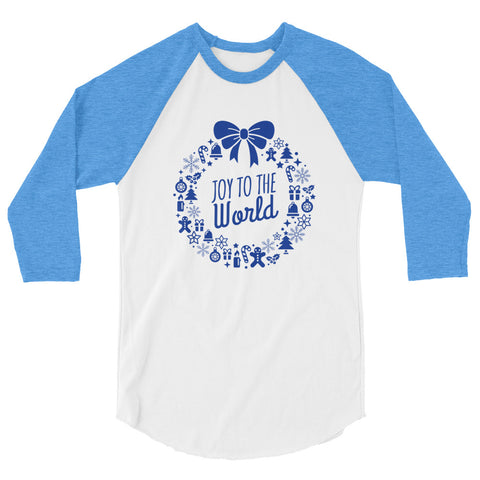 Unisex Raglan - Joy to the world