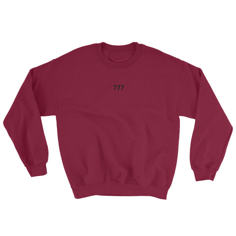Men's Sweatshirt - 777 - Maroon