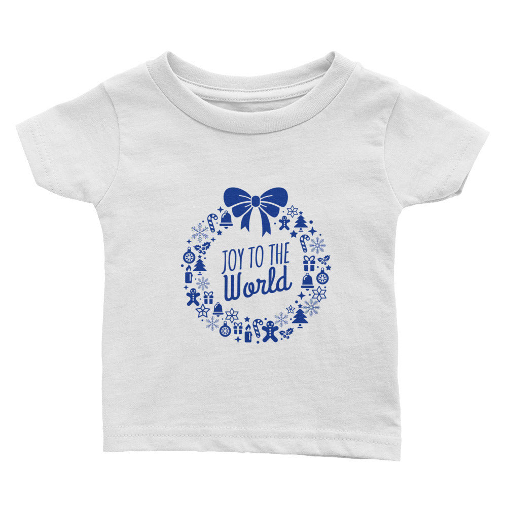 Infant Tee - Joy to the world.