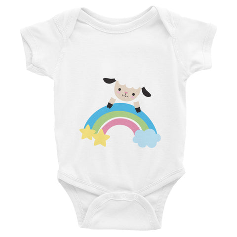 Secured by His Promise - Infant Bodysuit