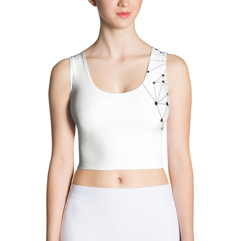 Love - All-over Women's Crop Top