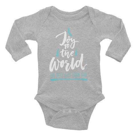 Your Gift From God - Infant Long Sleeve Bodysuit