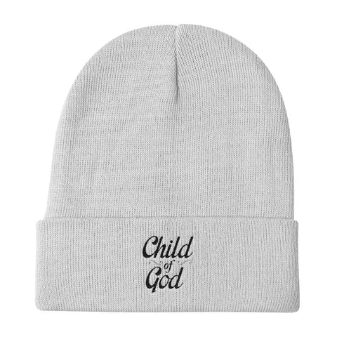 Knit Beanie - Child of God
