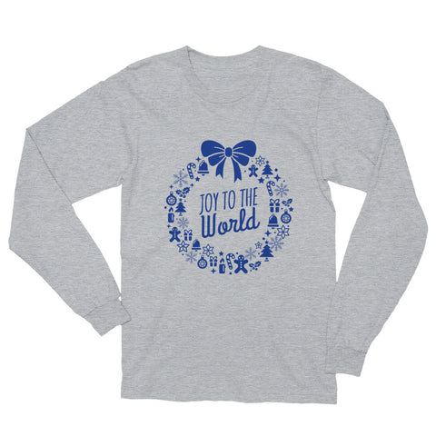 Unisex Long Sleeve T-Shirt - Joy to the world