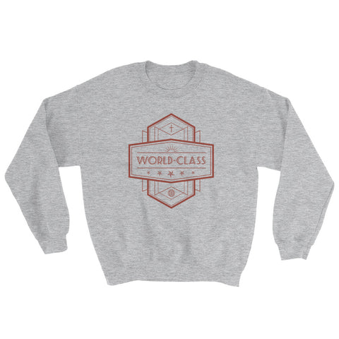 Men's Sweatshirt - World Class - Red