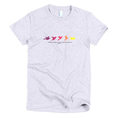 Dove - Short Sleeve Women's T-shirt
