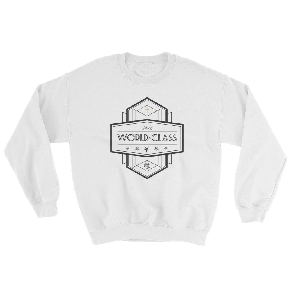 Women's Sweatshirt- World Class - Black