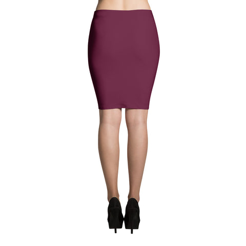 Transformed by the Rose of Sharon - Pencil Skirt