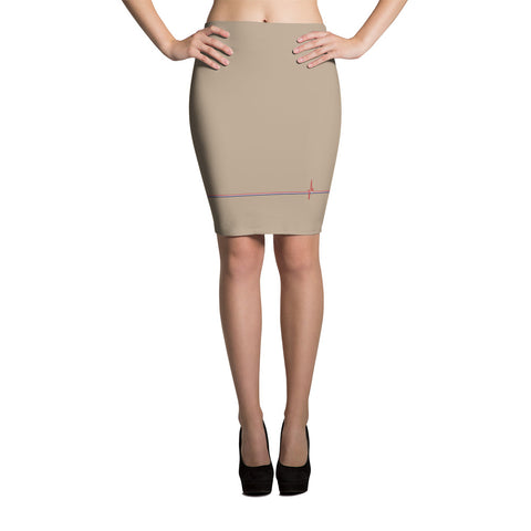 New Heartbeat - Pencil Skirt