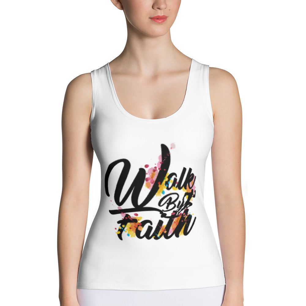 Walk By Faith - All-over Women's Tank Top