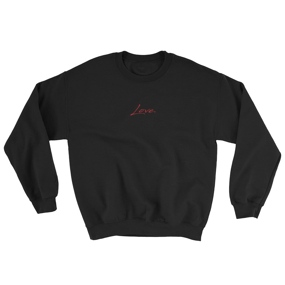 Women's Sweatshirt - Love - Red