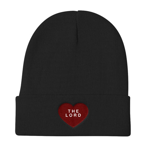 Knit Beanie - The Lord