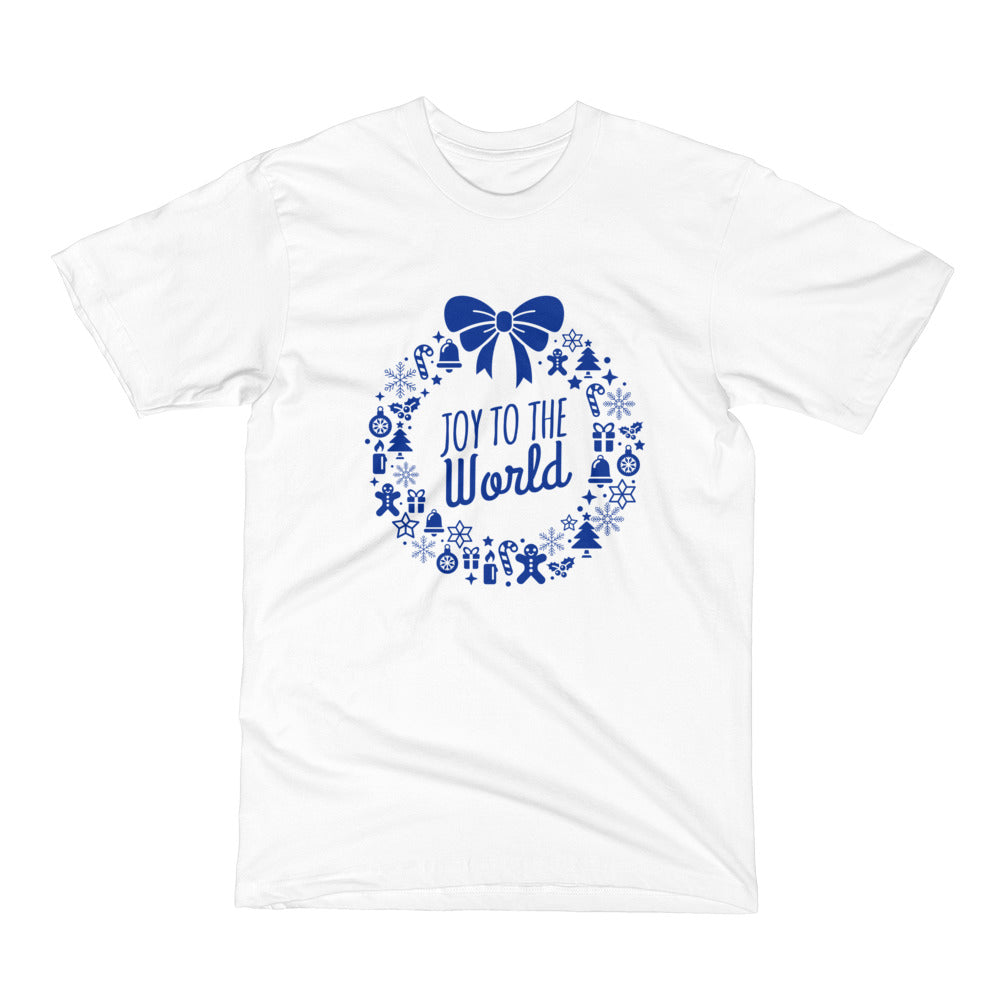 Men's Short Sleeve T-Shirt - Joy to the world