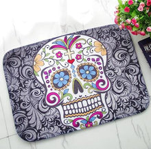 D-Sugar Skull Design Mat
