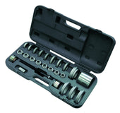Gedore Automotive Wheel Bearing Tool Set (with Mechanical Drive), VW-Audi, BMW, Ford, Seat, Škoda, Opel/Vauxhall