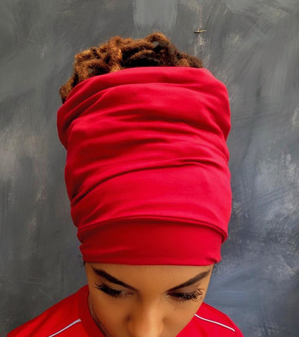 Red Open Top Headband