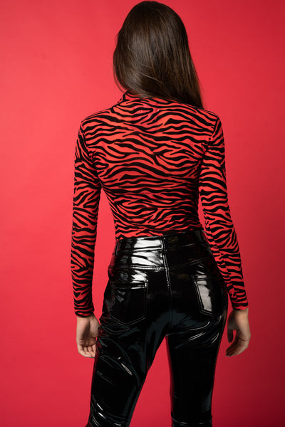Show em' who's tiger - Printed mesh body