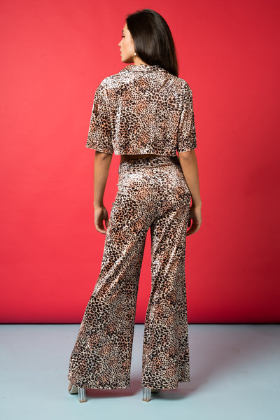 Like What You See, Do Ya? High Rise Leopard Flare
