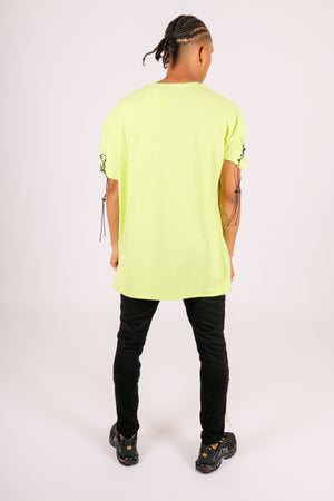 In Your Chills 'Joggers With Neon Green Pull Ties'